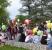 Lâcher de ballons - Place du 19 mars