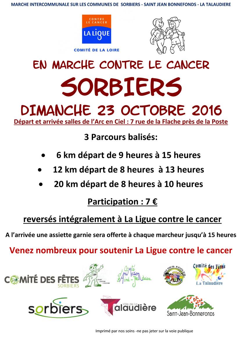 En marche contre le cancer